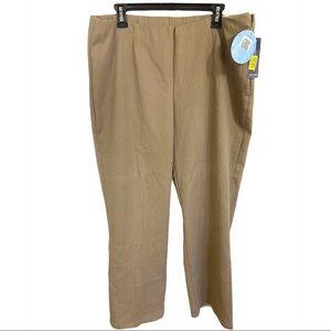 Westbound Woman Plus size Beige dress Pants 18W S